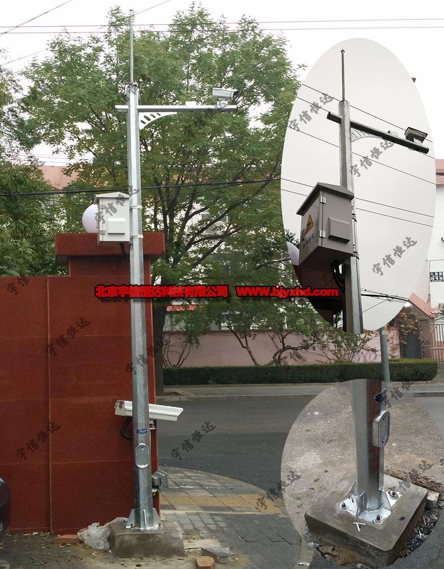 3.5米八角监控杆JT3.5-lx1